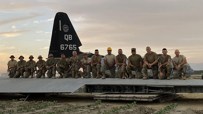 Cal Guard partners with U.S. Marines to recover aircraft involved in air-to-air collision